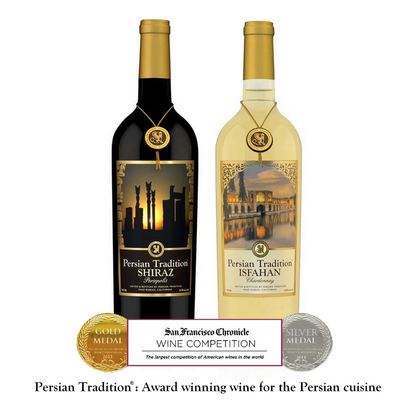 Persian wine : Award winning wine for the Persian Party